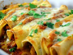 cooks corner:  chicken enchiladas