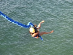 bungee jumping in banderas bay