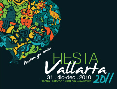 Fusion de Sentidos: Fiesta Vallarta 2011 - Poster