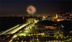 Mexico Bicentennial, Puerto Vallarta Night Malecon